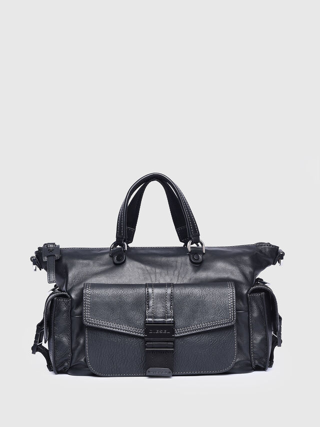 Diesel - MISS-MATCH SATCHEL M, Black - Satchels and Handbags - Image 1
