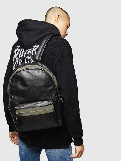 Diesel - ESTE, Black - Backpacks - Image 7