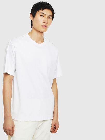 Diesel - T-ZAFIR, White - T-Shirts - Image 1