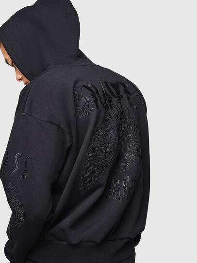 Diesel - S-ALBY-B5, Black - Sweaters - Image 5