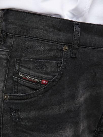 Diesel - Krailey JoggJeans 069QL, Black/Dark grey - Jeans - Image 4