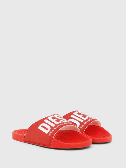 Diesel - FF 01 SLIPPER CH, Red - Footwear - Image 2