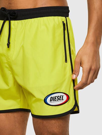 Diesel - BMBX-REEF-40, Yellow - Swim shorts - Image 3