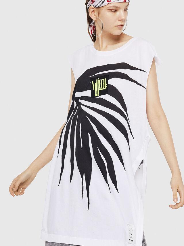 Diesel - T-DESY-B, White/Black - T-Shirts - Image 1