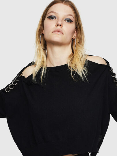 Diesel - M-NETTY, Black - Knitwear - Image 5