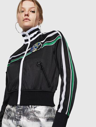 Diesel - F-LIDIUS-G, Black - Sweaters - Image 1