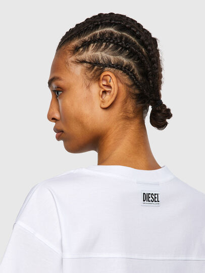 Diesel - T-BOWLESS-VO, White - Tops - Image 3