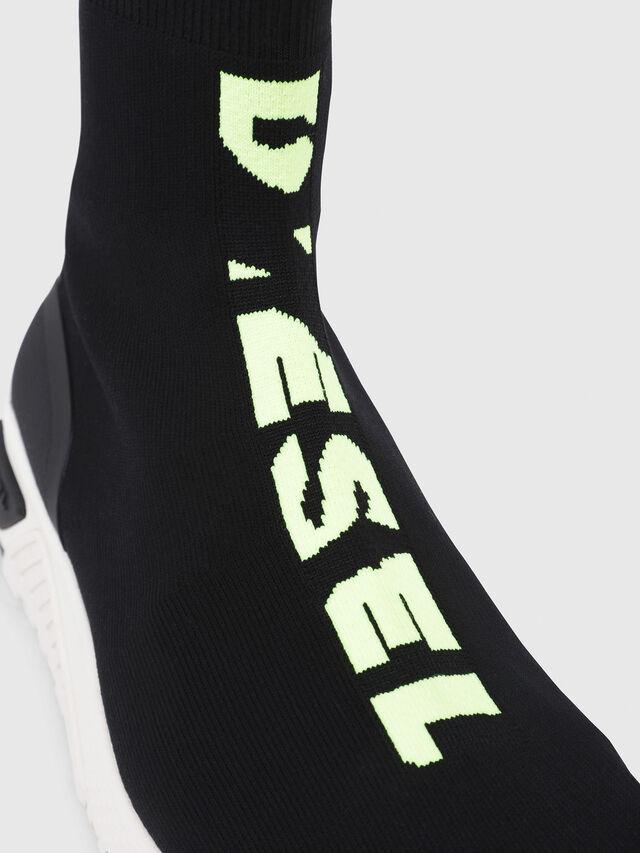 Diesel - S-KB MID ATHL SOCK, Black - Sneakers - Image 4