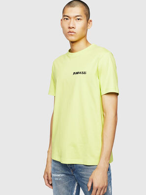 T-JUST-B31, Yellow Fluo - T-Shirts