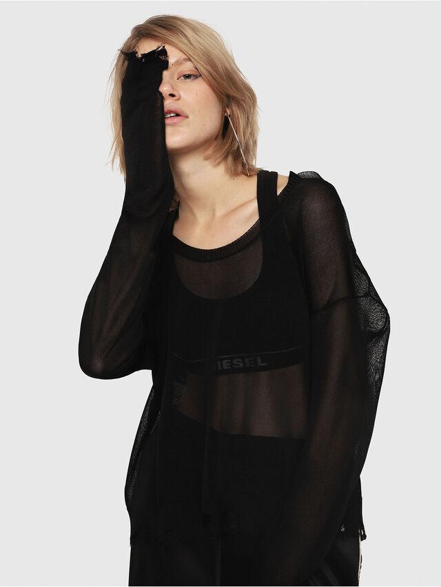 Diesel - M-ALPY-A, Black - Knitwear - Image 4