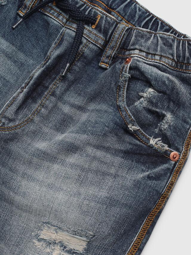Diesel - KROOLEY-J SH JOGGJEANS, Blue Jeans - Shorts - Image 3
