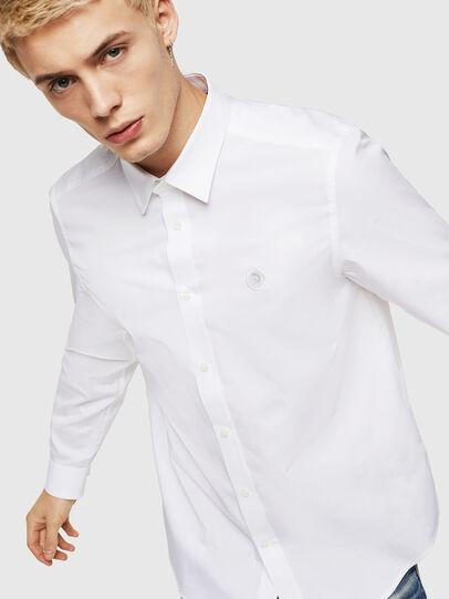 Diesel - S-BILL, White - Shirts - Image 1