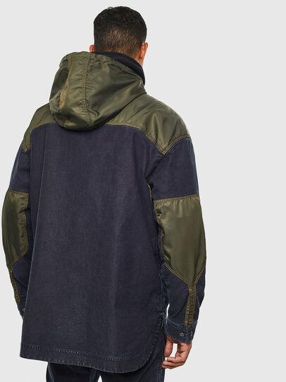 Diesel - D-SIMILAR JOGGJEANS, Dark Blue - Denim Jackets - Image 2
