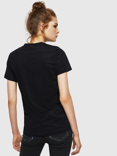 Diesel - T-SILY-WN, Black - T-Shirts - Image 2