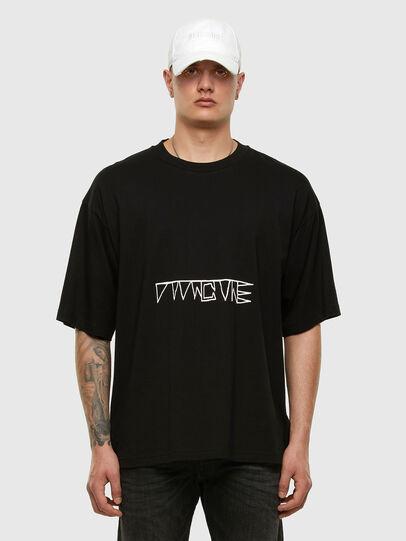 Diesel - T-BALL-X1, Black - T-Shirts - Image 5