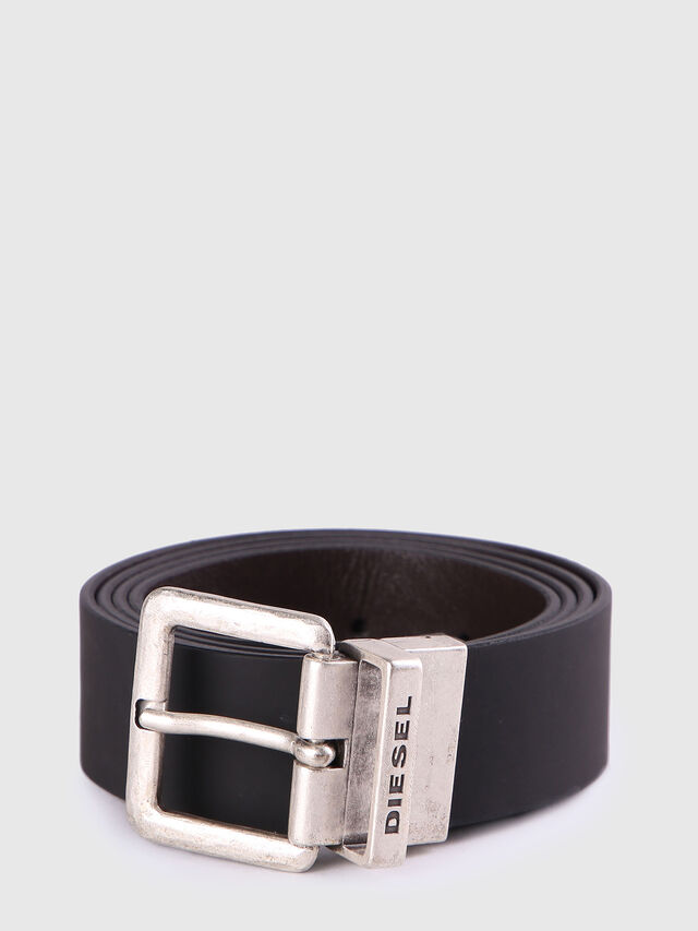 Diesel - B-DOUBLEC, Black/Brown - Belts - Image 1