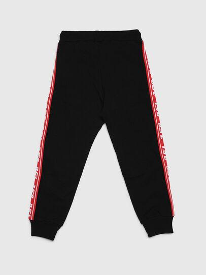 Diesel - PSUITA, Black/Red - Pants - Image 2