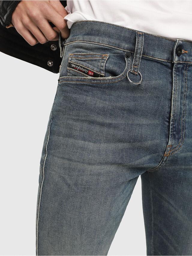 Diesel - D-Istort 085AZ, Medium blue - Jeans - Image 3