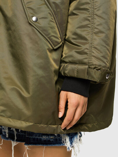 Diesel - W-FLORES, Military Green - Winter Jackets - Image 3