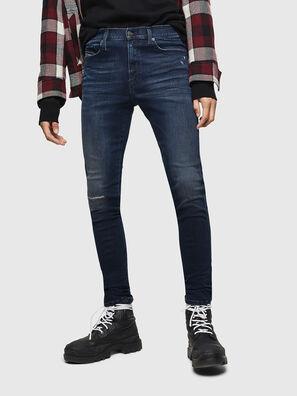 D-Istort 0870C, Dark Blue - Jeans