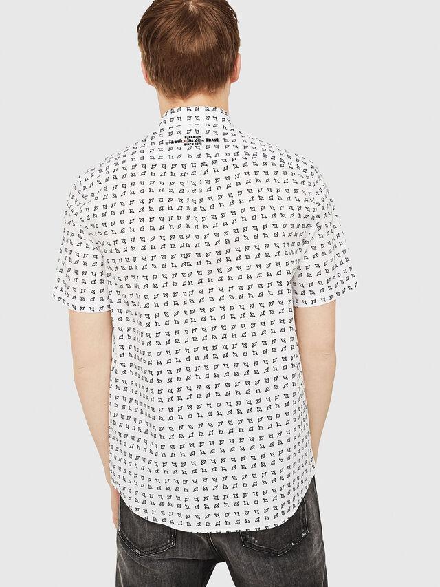 Diesel - S-AKURA-SHORT, White/Black - Shirts - Image 2