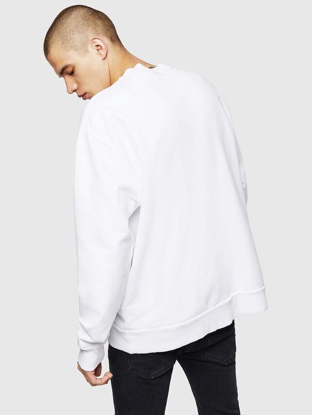 Diesel S-SAMY, White - Sweaters - Image 2