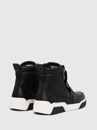 Diesel - S-RUA MID, Black - Sneakers - Image 3