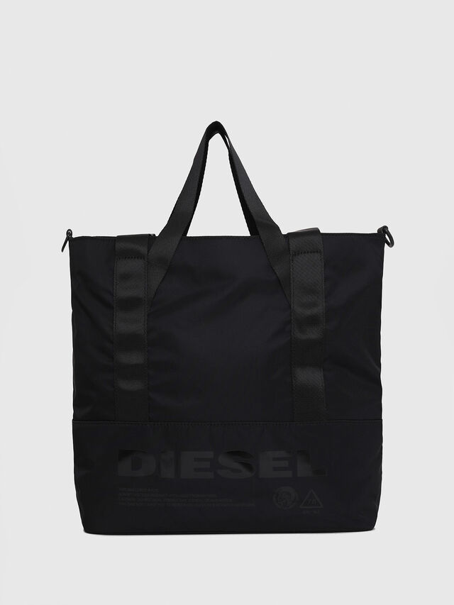 Diesel - F-SUSE T BACK W, Black/Blue - Backpacks - Image 1