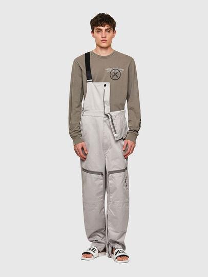 Diesel - P-JUMP-A, Light Grey - Pants - Image 6