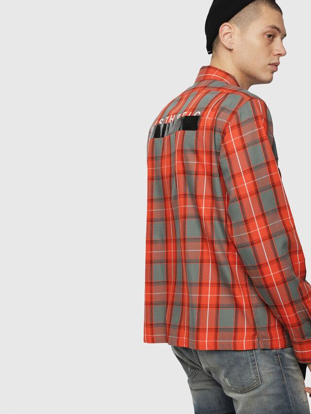 Diesel - S-TAKESHI, Red - Shirts - Image 2