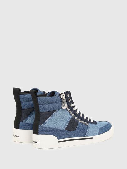 Diesel - S-DVELOWS MID CUT, Blue - Sneakers - Image 3