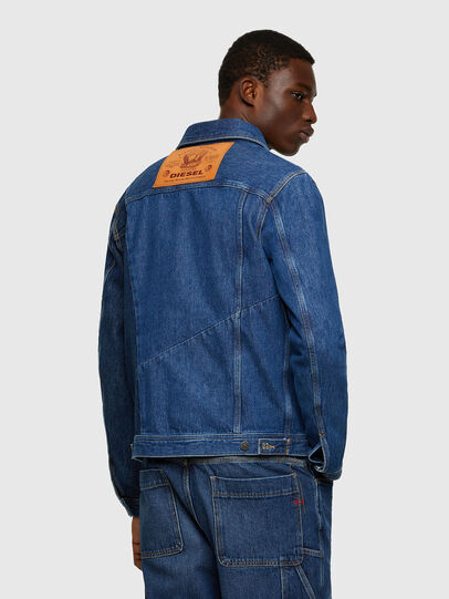 Diesel - D-COSNIL, Medium blue - Denim Jackets - Image 2