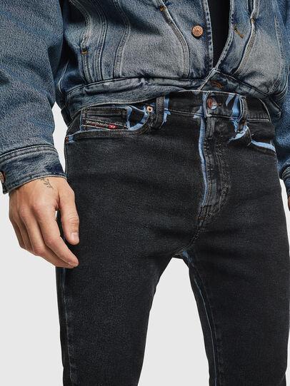 Diesel - D-Istort 0094B, Dark Blue - Jeans - Image 3
