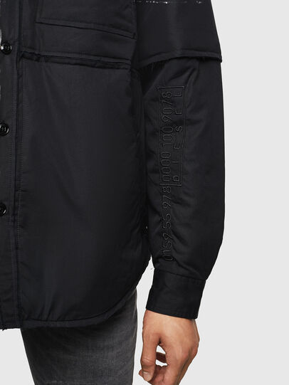 Diesel - J-CURTIS, Black - Jackets - Image 8