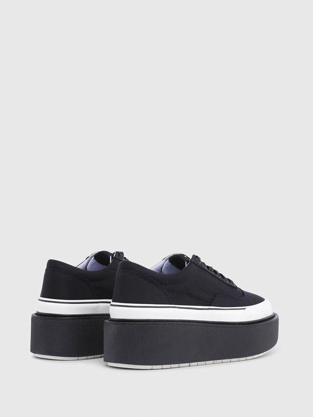 Diesel - H-SCIROCCO LOW, Black - Sneakers - Image 3
