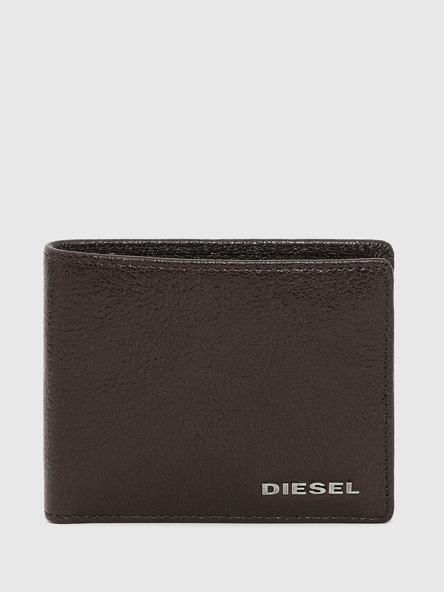 Diesel - HIRESH XS, Brown - Small Wallets - Image 1