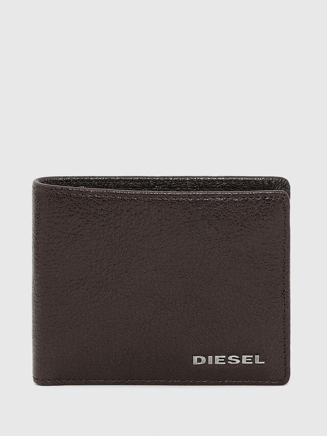 Diesel - HIRESH XS, Brown - Small Wallets - Image 1
