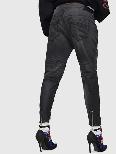 Diesel - Fayza JoggJeans 069GN, Black/Dark grey - Jeans - Image 2