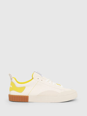 S-BULLY LC, White/Yellow - Sneakers