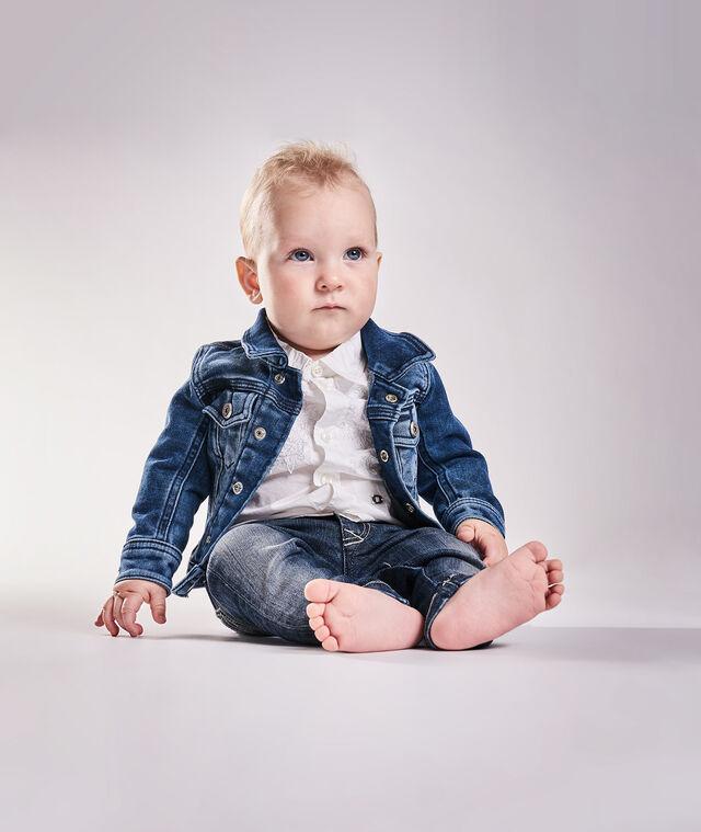 Diesel - JAFFYB JOGGJEANS J, Blue Jeans - Jackets - Image 1