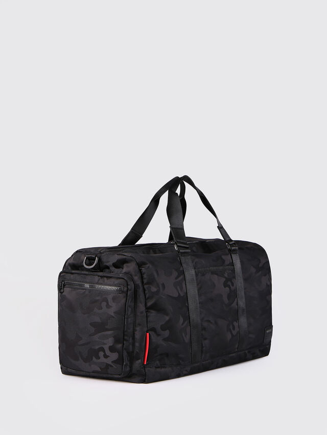 Diesel - F-DISCOVER DUFFLE, Black - Travel Bags - Image 3
