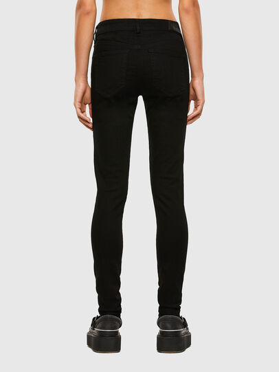 Diesel - Slandy 069EF, Black/Dark grey - Jeans - Image 2
