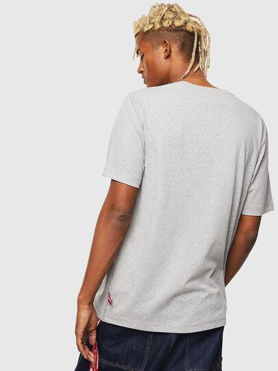 Diesel - CC-T-JUST-COLA, Grey - T-Shirts - Image 3