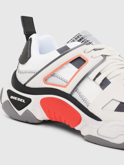 Diesel - S-KIPPER LOW TREK II, White - Sneakers - Image 4