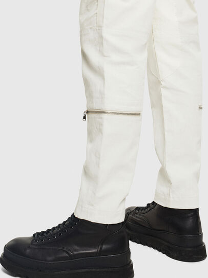 Diesel - P-ARMY, White - Pants - Image 3