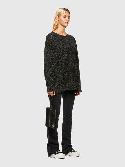 Diesel - M-AGATE, Black - Knitwear - Image 5