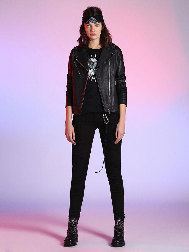LU-L-GOLNET, Black Leather
