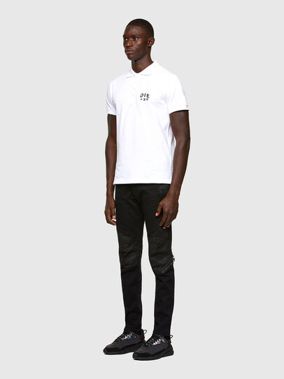 Diesel - T-RANDY-NEW-A2, White - Polos - Image 4