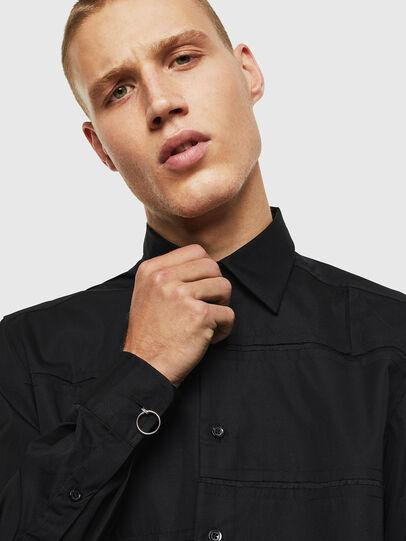 Diesel - S-AUDREY, Black - Shirts - Image 4