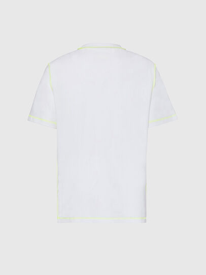 Diesel - T-JUSEAM, White - T-Shirts - Image 2